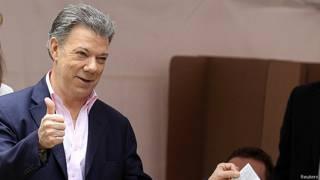 Juan Manuel Santos (foto: Reuters)