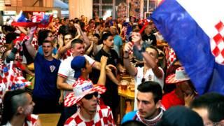 क्रोएशिया के समर्थक