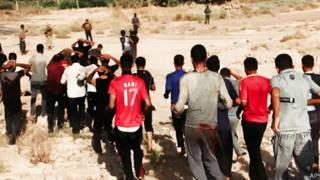 Prisioneros iraquíes en manos de ISIS