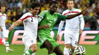 फ़ीफ़ा 2014 में ईरान और नाइजीरिया का मैच