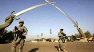 امریکايي پوځيان په عراق کې