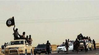 इराक़ में आईएसआईएस के लड़ाके
