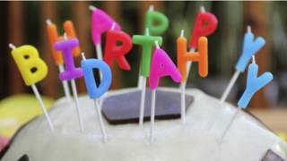 जन्मदिन का केक