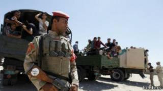 Abajejwe umutekano muri Irake barakumira ngo Baghdad igume itekanye