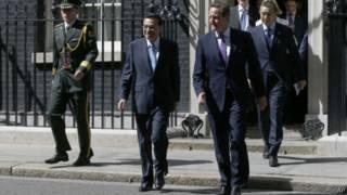 PM Li Keqiang dan PM David Cameron