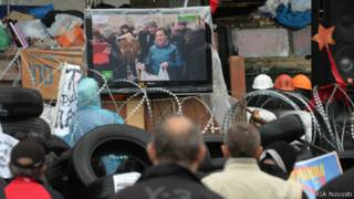 Украинцы смотрят НТВ