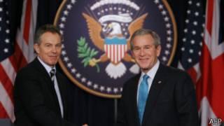 بوش وبلير