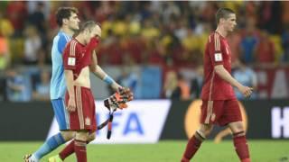 Espanha eliminada (AFP)