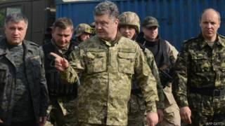 यूक्रेन के राष्ट्रपति पेट्रो पोरोशेंको