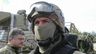 Soldados ucranianoa