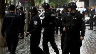 शिनजियांग पुलिस हमला