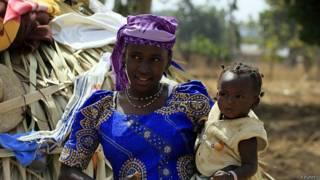 Niños en Nigeria