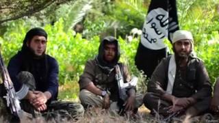 """Видео джихадистов из группировки """"Исламское государство Ирака и Леванта"""""""
