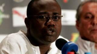 Shugaban hukumar kwallon Ghana, Kwesi Nyantakyi