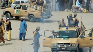 पाकिस्तान में सेना का अभियान