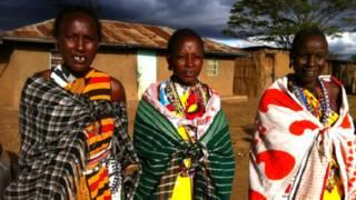 केन्या, एक साथ रहने वाली तीन पत्नियां, मसाई