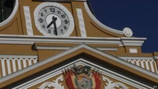 Reloj boliviano