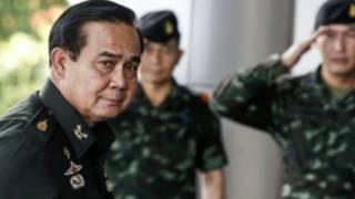 کودتا به رهبری فرمانده ارتش ژنرال پرایوت چان-اوچا