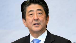 शिंजो एबे, प्रधानमंत्री जापान