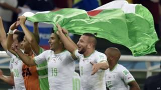 अल्जीरिया की टीम