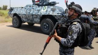 Farmakin sojan Iraki a Tikrit
