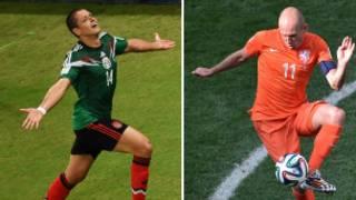 Wasan Holland da Mexico