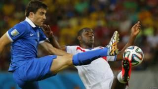 哥斯達黎加在120分鐘內1-1戰平希臘