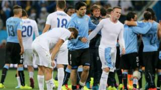 英格兰对乌拉圭