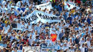 brasileirosTorcida argentina (Getty)