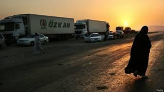 Refugiados en Mosul