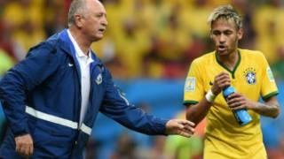 Kociyan Brazil Scolari da Neymar