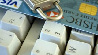 Клавиатура с кредитной картой
