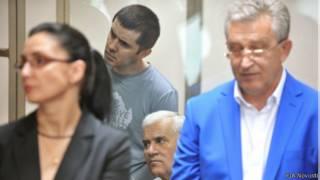 Амиров и Джапаров в зале суда