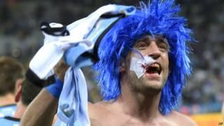 Zabaleta comemora classificação argentina à final