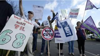 Huelga en Reino Unido