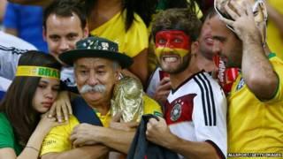 ब्राजील और जर्मनी समर्थक