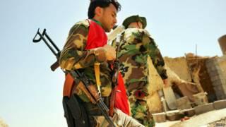 कुर्द, इराक़, सैनिक