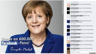 Фейсбук Меркель