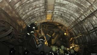Катастрофа в московском метро