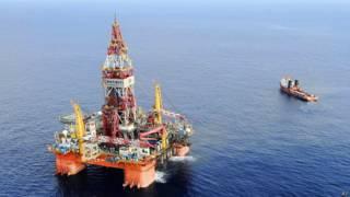 Plataforma china próxima a las islas Paracel en 2012 (archivo)