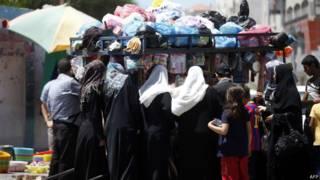 Женщины в Газе
