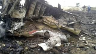 मलेशियाई विमान दुर्घटनाग्रस्त