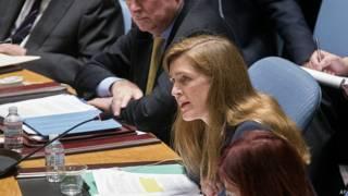 Samantha Power, embadora de EE.UU. ante la ONU