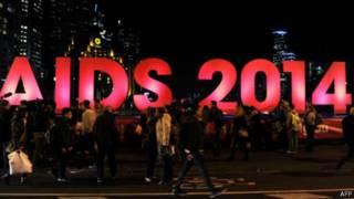 شعار مؤتمر الإيدز العالمي في استراليا