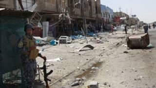 इराक़ आत्मघाती हमला