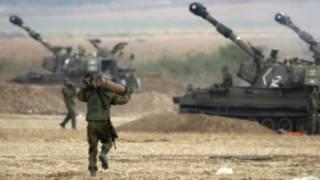 Des soldats israéliens à Gaza