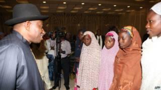Presiden Goodluck Jonathan