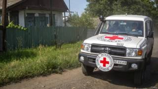 Красный Крест на востоке Украины