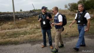 OSCE yohereje indorerezi aho iyo ndege yahanukiye