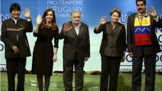 Reunião Mercosul. Crédito: AP
